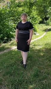Платье короткое летнее черное Т6000