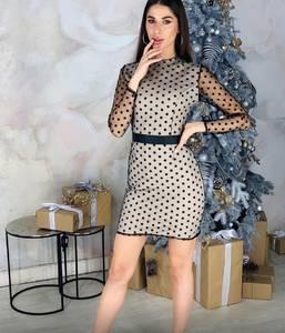 Платье короткое облегающее Ю1420