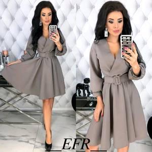 Платье короткое современное Ю3072