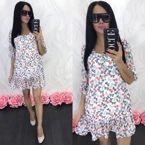 Платье короткое летнее Ц6847