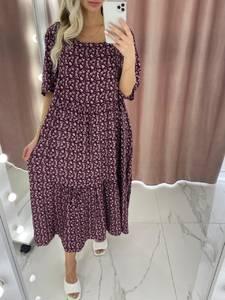 Платье длинное летнее А37902