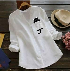 Рубашка с принтом А48769