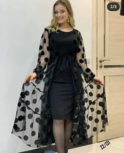 Платье короткое современное А57079