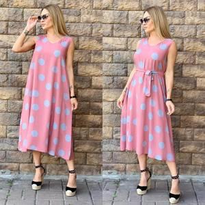 Платье длинное летнее Ч2744
