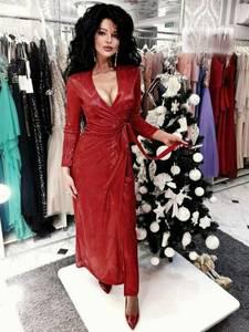 Платье длинное нарядное Ю2604