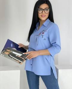 Блуза для офиса А39766