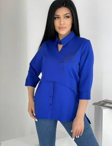 Блуза для офиса А39767