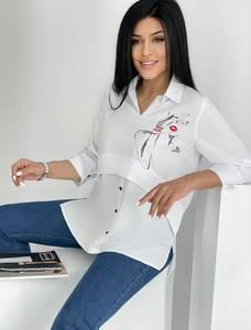 Блуза для офиса А39768