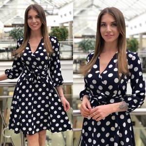 Платье короткое нарядное Ю4075