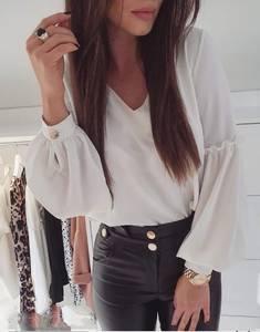 Блуза с длинным рукавом Я1453
