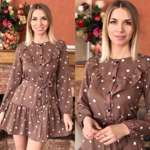 Платье короткое нарядное Я1734