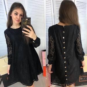 Платье короткое нарядное Я2151