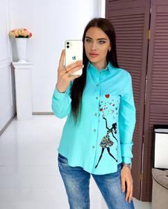 Рубашка с длинным рукавом Я3428
