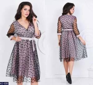 Платье короткое нарядное А09602