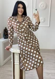 Платье длинное с длинными рукавами А30660