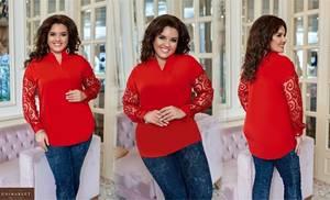 Блуза нарядная А33526