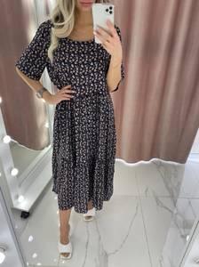 Платье длинное летнее А37903