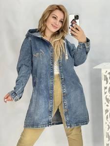 Джинсовая куртка А53614