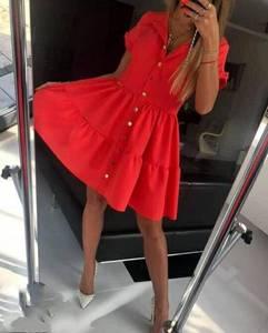 Платье короткое летнее Ч3744