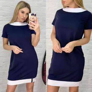 Платье короткое повседневное А01066