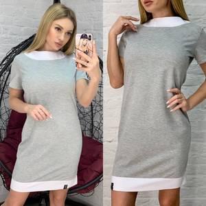 Платье короткое повседневное А01067