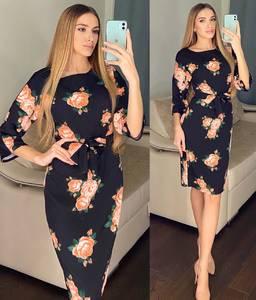 Платье короткое облегающее Ю1685