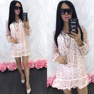 Платье короткое летнее Ц6849