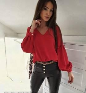 Блуза с длинным рукавом Я1454