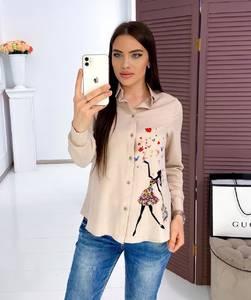 Рубашка с длинным рукавом Я3429