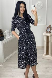 Платье короткое нарядное А36625