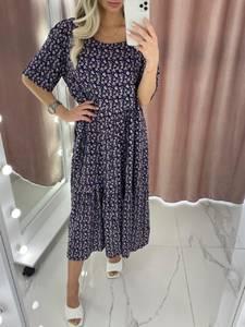 Платье длинное летнее А37904
