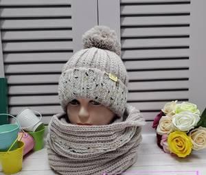 Шапка и шарф Хомут А24672