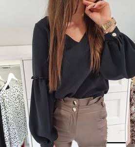 Блуза с длинным рукавом Я1455