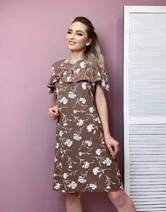 Платье короткое летнее А31702