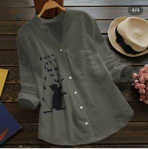 Рубашка с принтом А48772