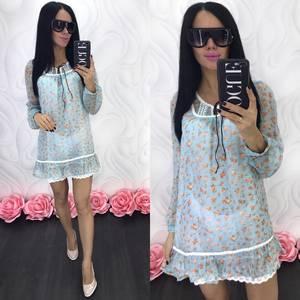 Платье короткое летнее Ц6850