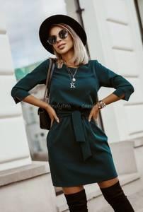 Платье короткое с рукавом 3/4 А32257