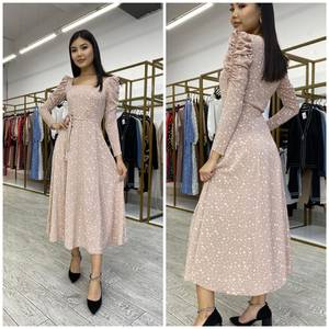 Платье длинное нарядное А25530