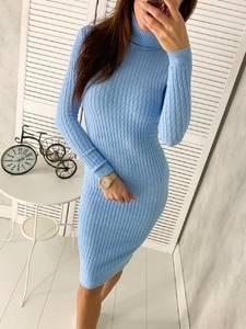 Платье короткое с длинным рукавом Ш2306