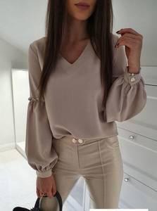 Блуза с длинным рукавом Я1456