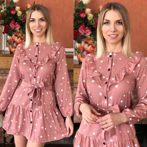 Платье короткое нарядное Я1737