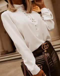 Блуза с длинным рукавом А32209