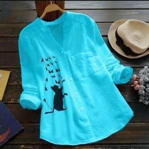 Рубашка с принтом А48774