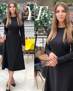 Платье короткое классическое Ш6181