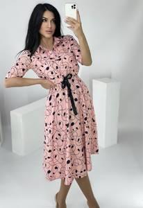 Платье короткое нарядное А36627