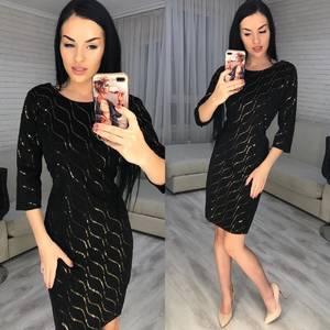 Платье короткое нарядное Ш8356