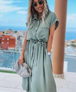 Платье длинное летнее А01571