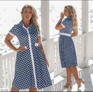 Платье короткое летнее А02256