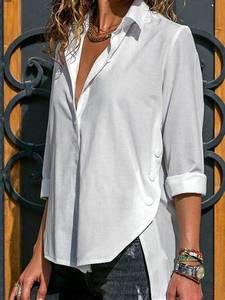 Рубашка однотонная А29592