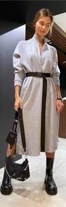 Платье длинное с длинными рукавами А29596